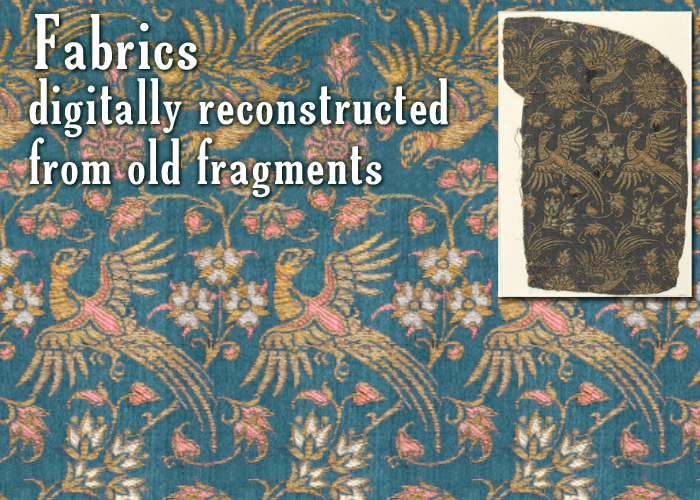 historic Ottoman fabric reconstructed